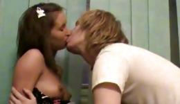 This is incredible homemade porn between handsome guy and gorgeous girl
